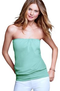 Victoria's Secret Strapless Top blue/green