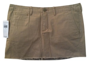 Ralph Lauren Mini Skirt Tan