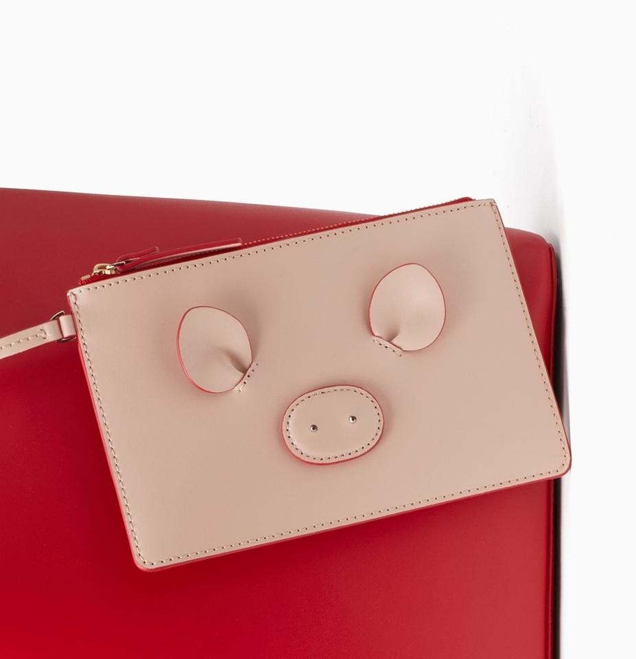 f1fa57ca066 Kate Spade Year Of The Pig Red Leather Tote