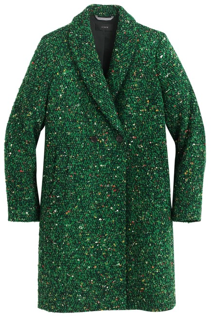 Item - Green New with Tag Daphne In Italian Tweed Tall Coat Size 6 (S)