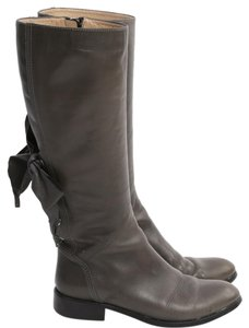 Valentino Knee High Green Boots