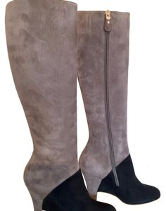 cf9739ed720 Salvatore Ferragamo 80% off!! dove grey black Boots
