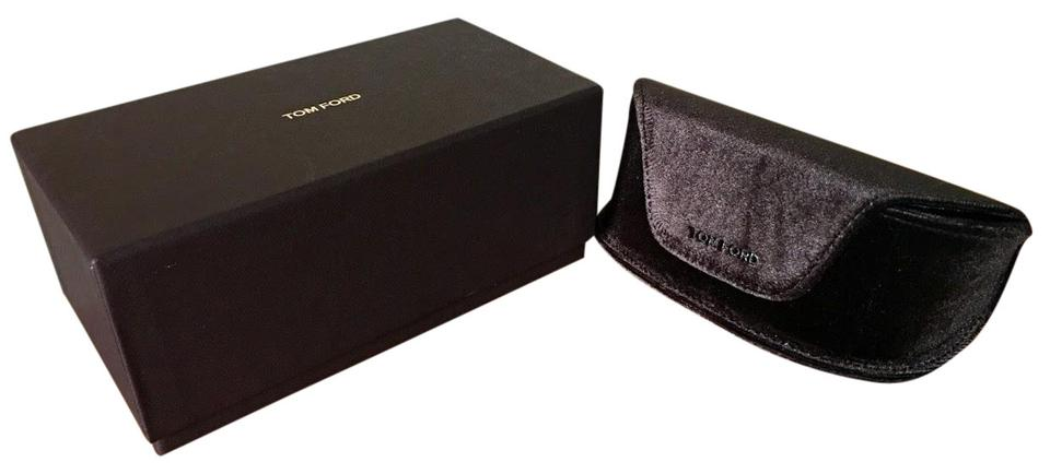 ae9f26d1d376 Tom Ford Tom Ford Large Brown Velvet Sunglasses Soft Case + Cleaning Cloth.