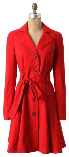 Item - Red Pansy By Elevenses Coat Size 6 (S)