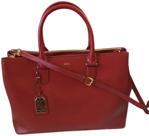 e2de98d99d Red Ralph Lauren Bags - Up to 90% off at Tradesy