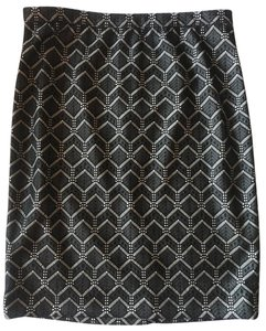 The Limited Pencil Skirt Black Beige