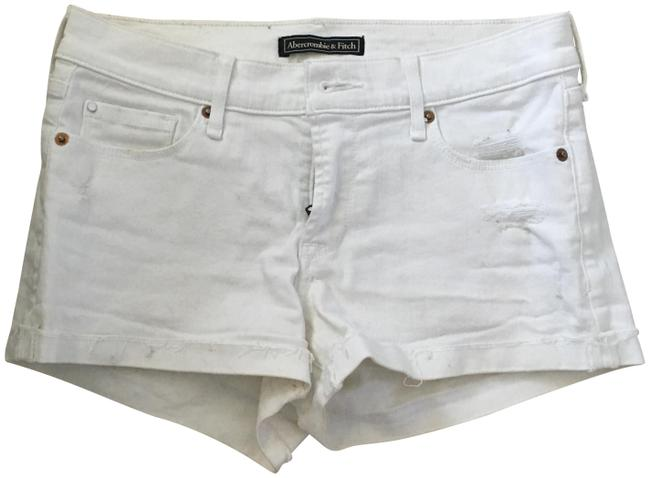 Item - Bleach White Classic Shorts Size 0 (XS, 25)