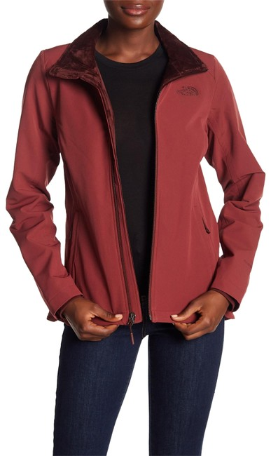 Item - Barolo Red Lisie Raschel Fleece Jacket Size 6 (S)
