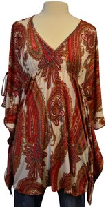 Vanita Rosa Paisley Resort Resort Wear Tunic