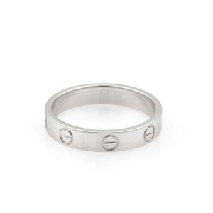 Cartier 18k white gold Cartier LOVE Ring