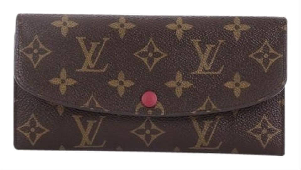 c34f48d1bfd6 Louis Vuitton Emilie Wallet Monogram Brown Canvas Wristlet - Tradesy