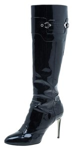 Dolce&Gabbana Patent Leather Black Boots