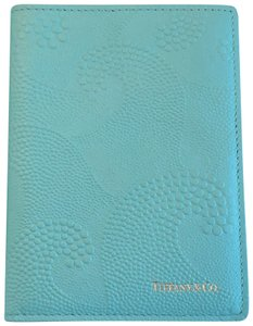 Tiffany & Co. Wave Embossed Leather Passport