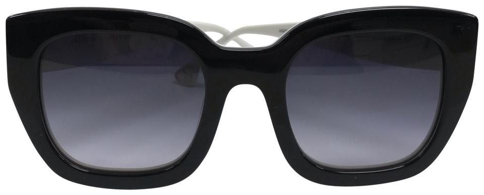 bca232c9a0 Alice + Olivia Alice   Olivia ABERDEEN Black and White Sunglasses   New  without tags!