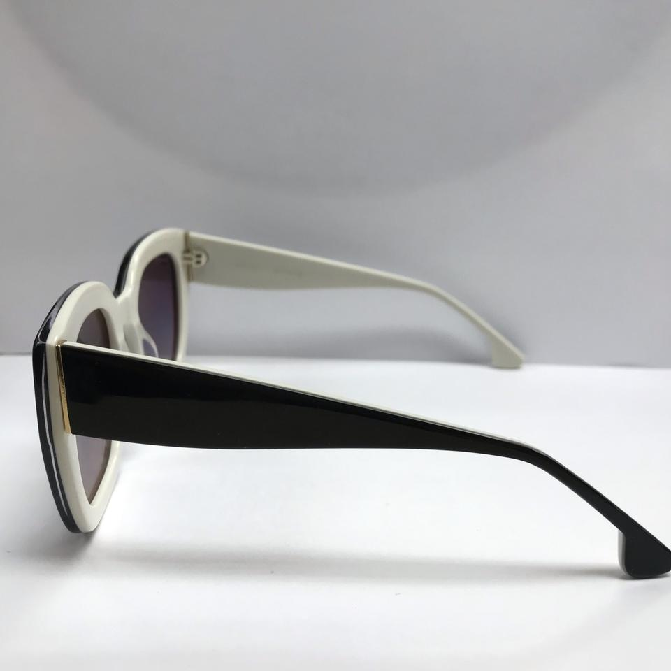 807c11c887 Alice + Olivia Black and White Aberdeen New Without Tags Sunglasses -  Tradesy