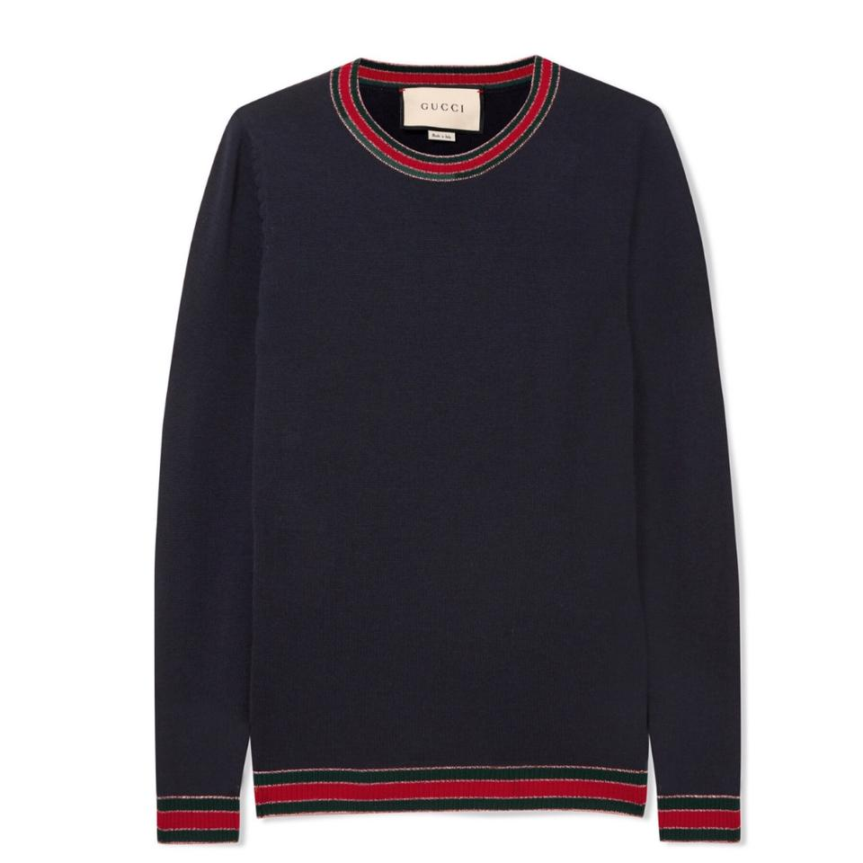 a332fa91cde79 Gucci Striped Sweater - Tradesy
