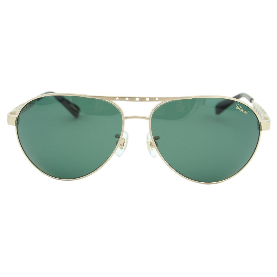 39c37232a0b Chopard New Sch-b01 L45P G.p.m.h. Titanium Polarized Aviator Sunglasses ...