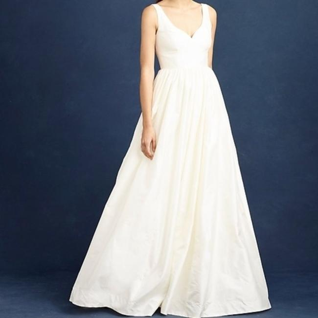 Item - Ivory Silk Karlie Bridal Gown Modern Wedding Dress Size 2 (XS)