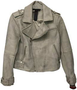 Marc by Marc Jacobs white Leather Jacket
