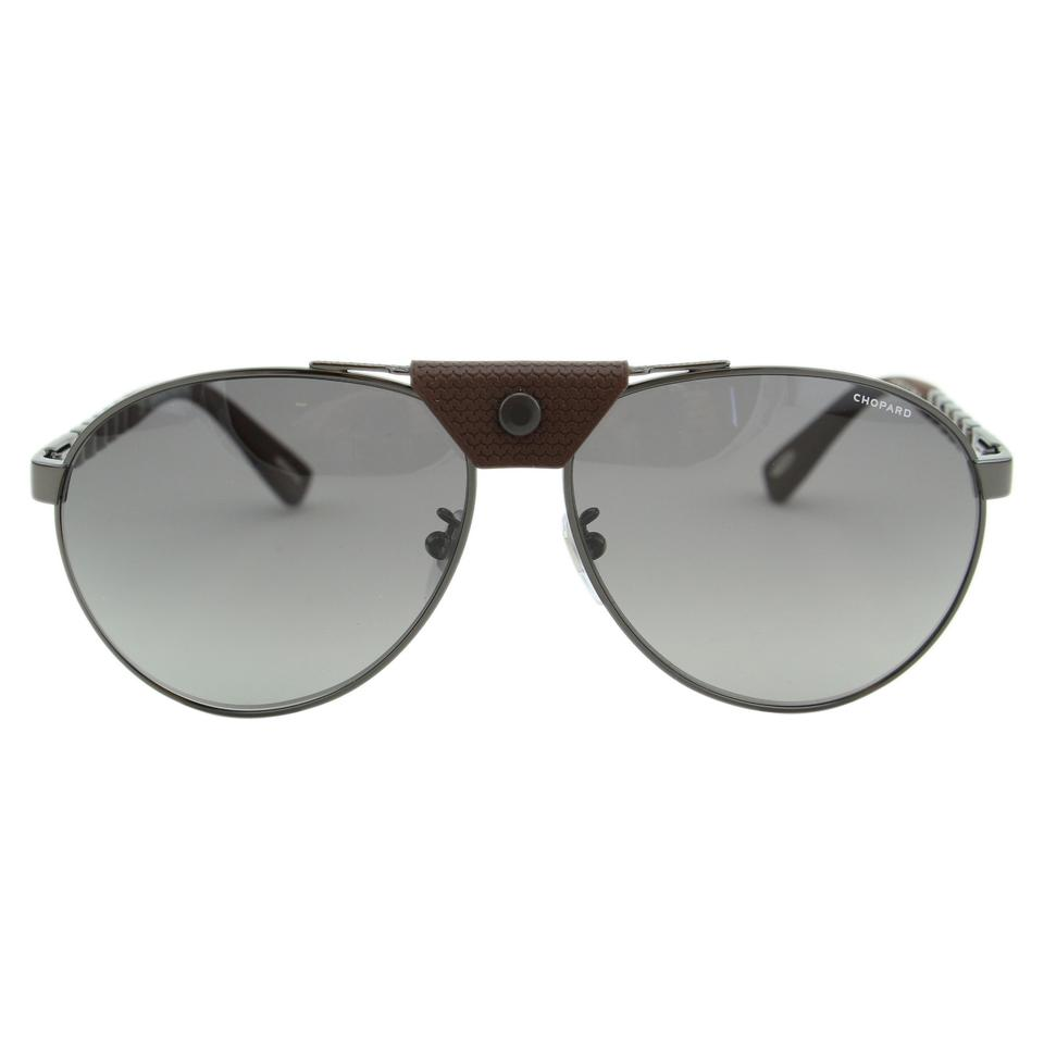 ec64f2d6878 Chopard New SCH-B33 Nose-Piece Polarized Mirror Aviator Sunglasses 62mm ...