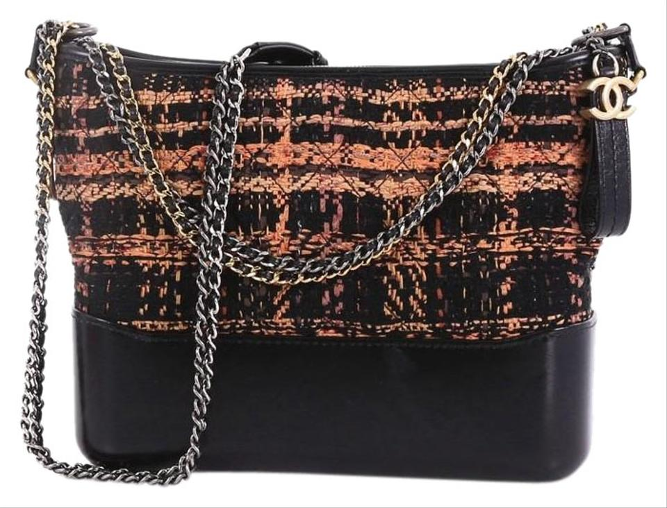 a79970e37764 Chanel Gabrielle Hobo Quilted and Calfskin Medium Multicolored Tweed ...