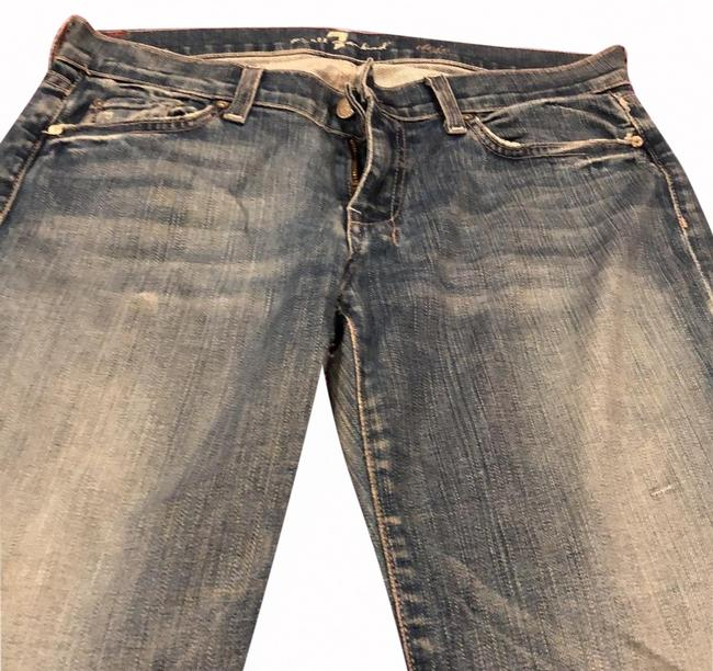 Seven7 Boot Cut Jeans-Distressed Image 0