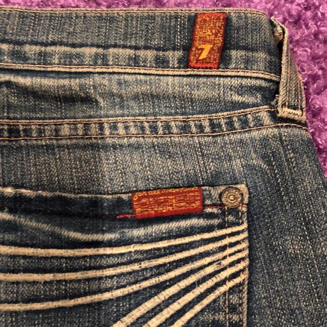 Seven7 Boot Cut Jeans-Distressed Image 4