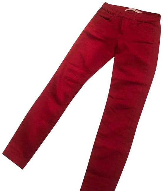 Item - Red The Skinny Straight Leg Jeans Size 0 (XS, 25)