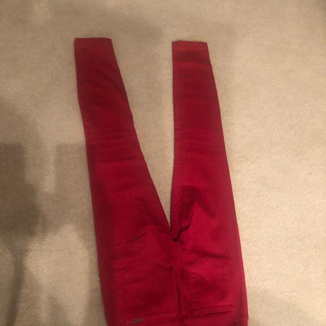 JOE'S Jeans Red The Skinny Straight Leg Jeans Size 0 (XS, 25) JOE'S Jeans Red The Skinny Straight Leg Jeans Size 0 (XS, 25) Image 3