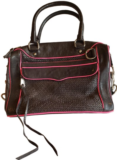 Preload https://img-static.tradesy.com/item/24702623/rebecca-minkoff-morning-after-black-with-bright-pink-trim-leather-satchel-0-1-540-540.jpg