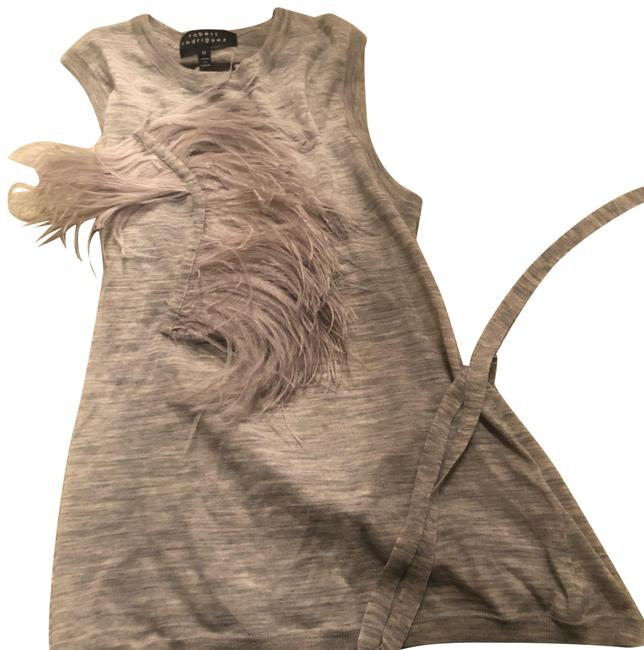 Item - Heather Gray Couture Collection Halter Top Size 6 (S)