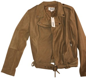 BB Dakota Moto Suede Suede Motorcycle Jacket