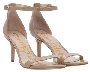 Sam Edelman Heels Pad Leather Stiletto Almost New nude Sandals