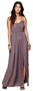 Purple/grey (it looks a little darker/more gray than the images) Maxi Dress by Free People