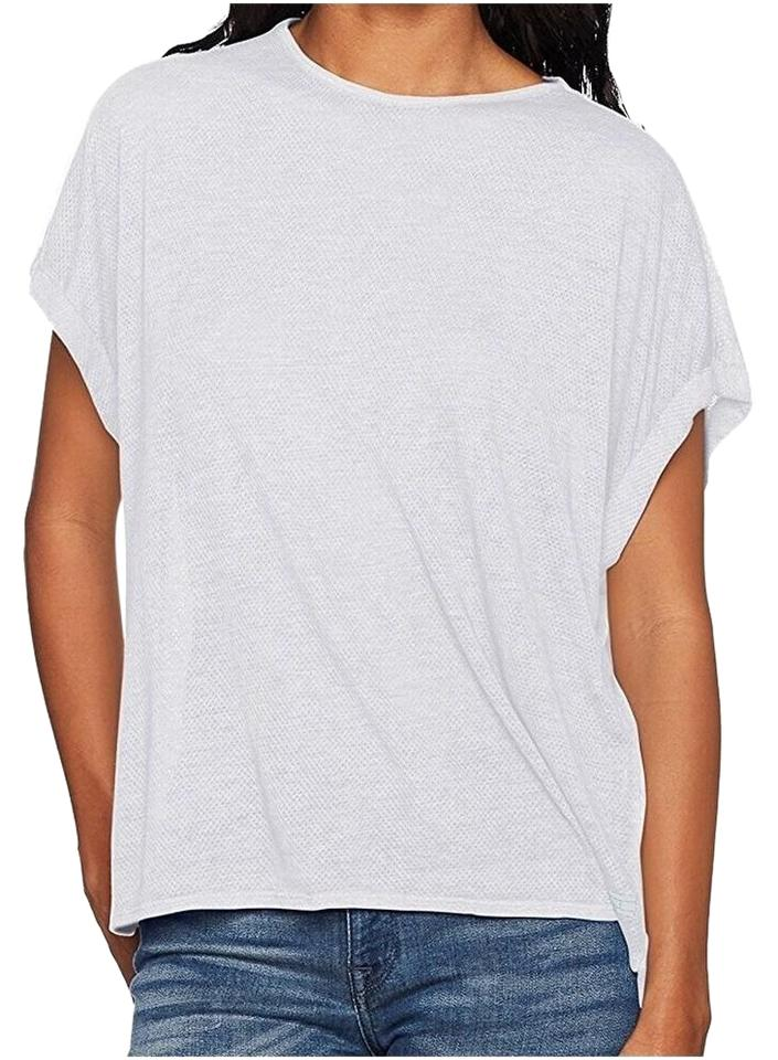 47f2cdc80 Tommy Hilfiger White Sport Women's Envelope Back Mesh Tee Shirt Size ...