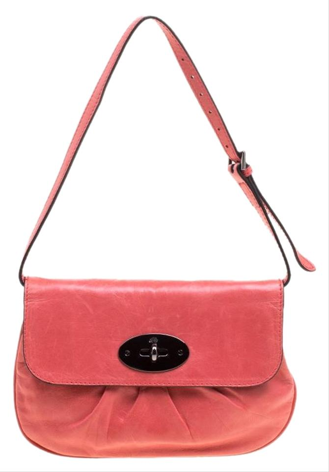Mulberry Joelle Pochette Pink Pleated Leather Shoulder Bag - Tradesy a1cd5288c75c0