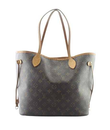 Louis Vuitton Canvas Gold-tone Dustbag Tote in Brown