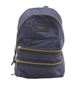 Marc Jacobs Marc Jacobs Dom Ariagato Packrat Blue Canvas Backpack (164052)