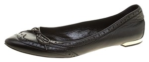 Burberry Leather Black Flats