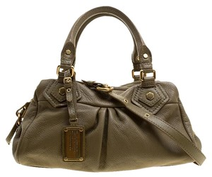 Marc by Marc Jacobs Leather Classic Tote in Taupe