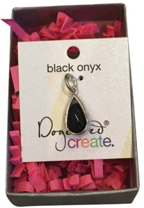 Dogeared Black Onyx Pendant