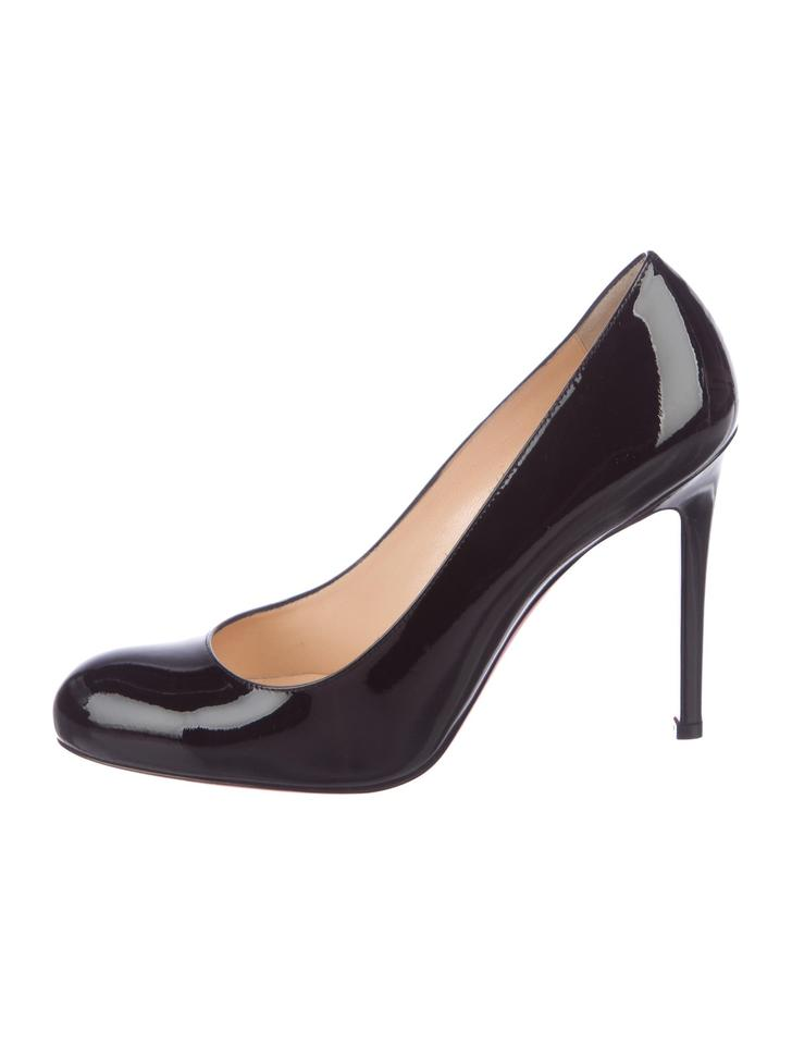 a1afc0db0ba0 Christian Louboutin Black New Patent Leather Round-toe 8 Pumps Size EU 38  (Approx. US 8) Regular (M