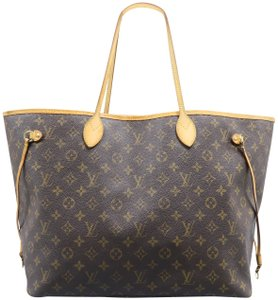 Louis Vuitton Neverfull Gm Canvas Shoulder Bag