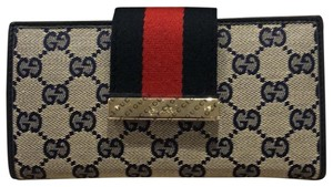 Gucci Continental Web Metal Bar 181668