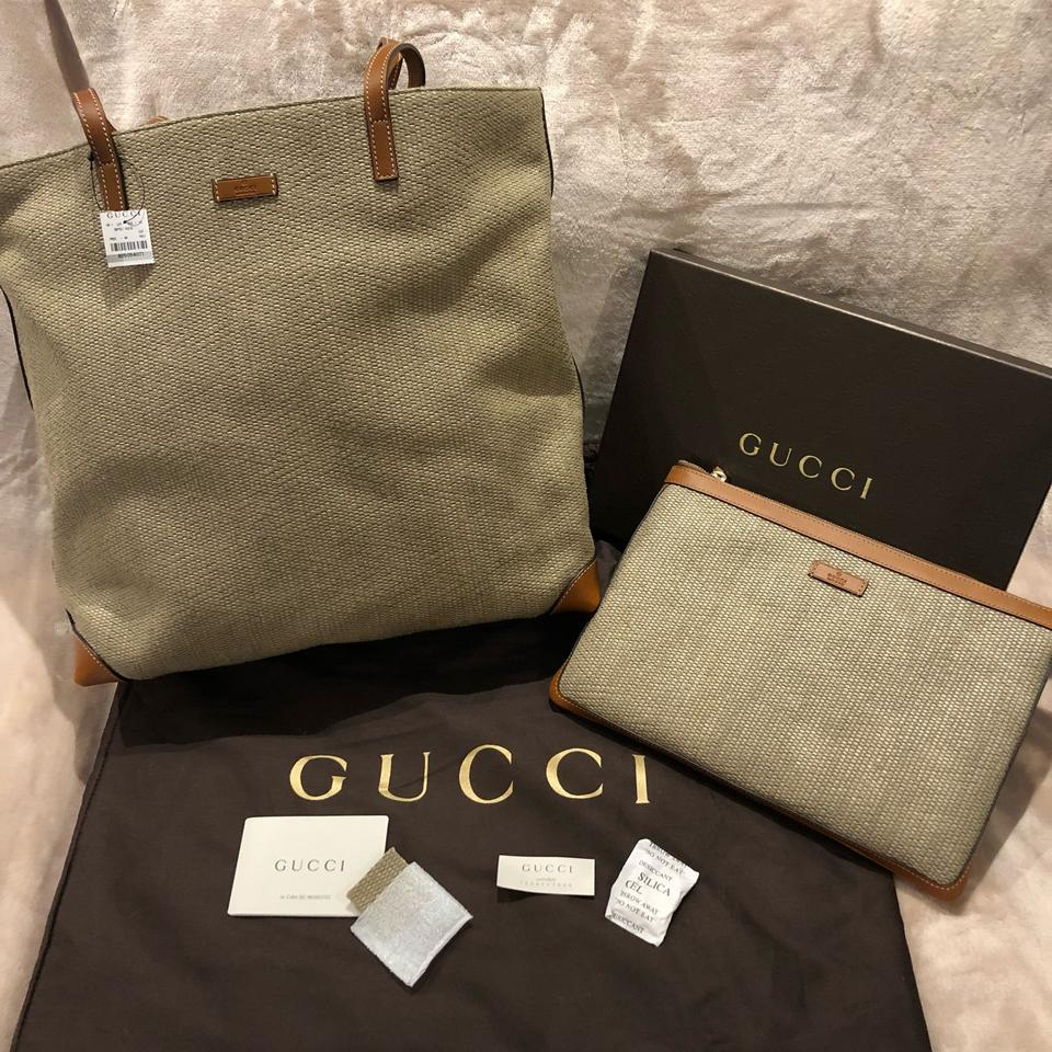 6c6eb2c94d2c54 Gucci Beige Straw Zip-top Pouch Style# 286209 Kgo1g 9963 Cosmetic ...