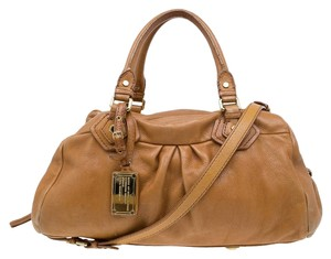 Marc by Marc Jacobs Leather Satchel in Brown