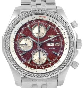 353a586793cce Breitling Breitling Bentley Motors GT Burgundy Dial Mens Watch A13362 Box  Papers