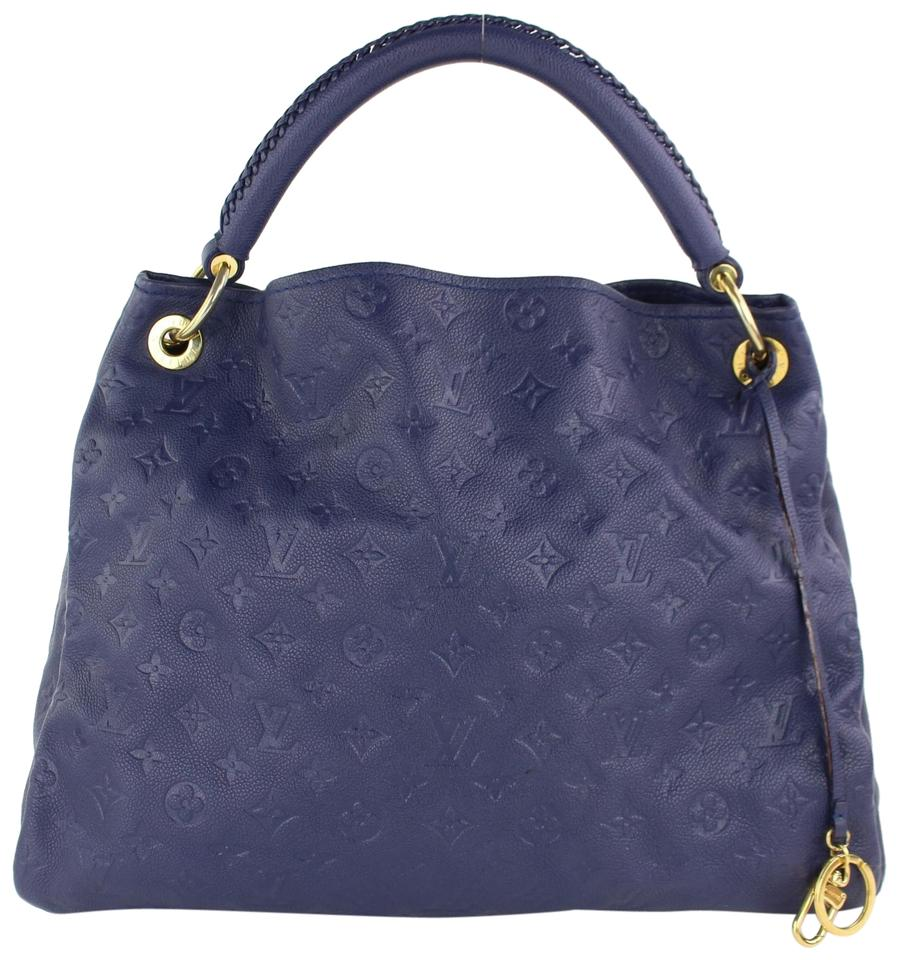 f63acf614cb6 Louis Vuitton Delightful Sully Azur Limited Discontinued Hobo Bag Image 0  ...