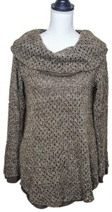 Soft Surroundings Acrylic Wool Longsleeve Tunic Oversized Sweater