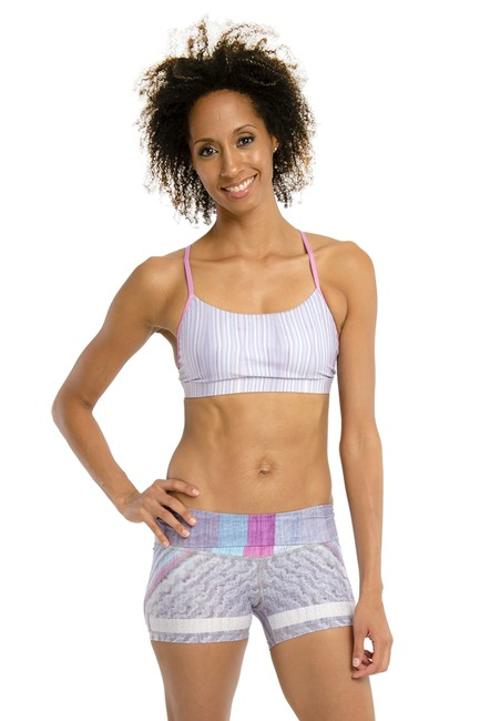 Item - Purple Speed Racer Activewear Sports Bra Size 8 (M, 29, 30)